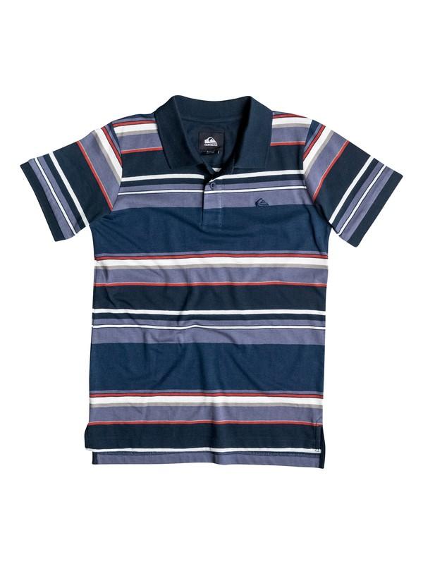 0 Boys 8-16 Decay Stripe Polo Shirt  40664006 Quiksilver