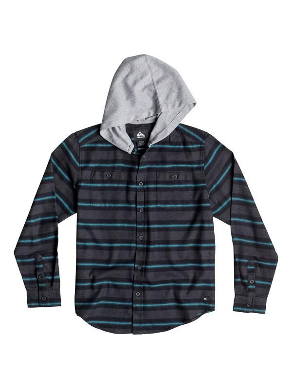 0 Boys 8-16 Craftsman Long Sleeve Flannel Shirt  40664031 Quiksilver
