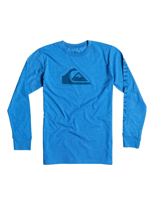 0 Boys 8-16 Logo Long Sleeve T-Shirt  40664050 Quiksilver
