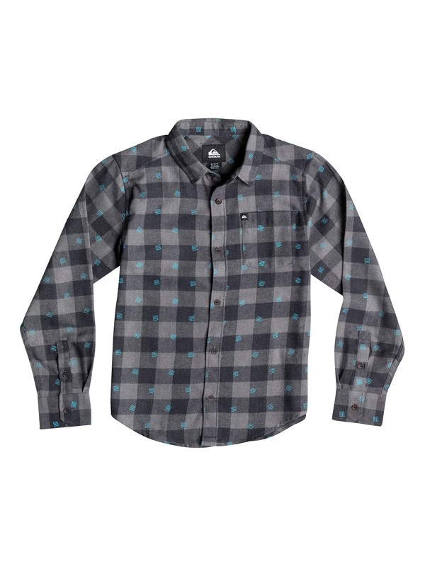 0 Boys 8-16 Microbite Long Sleeve Shirt  40664137 Quiksilver