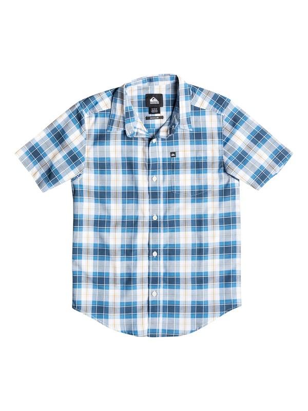 0 Boys 8-16 Patman Short Sleeve Shirt  40664138 Quiksilver