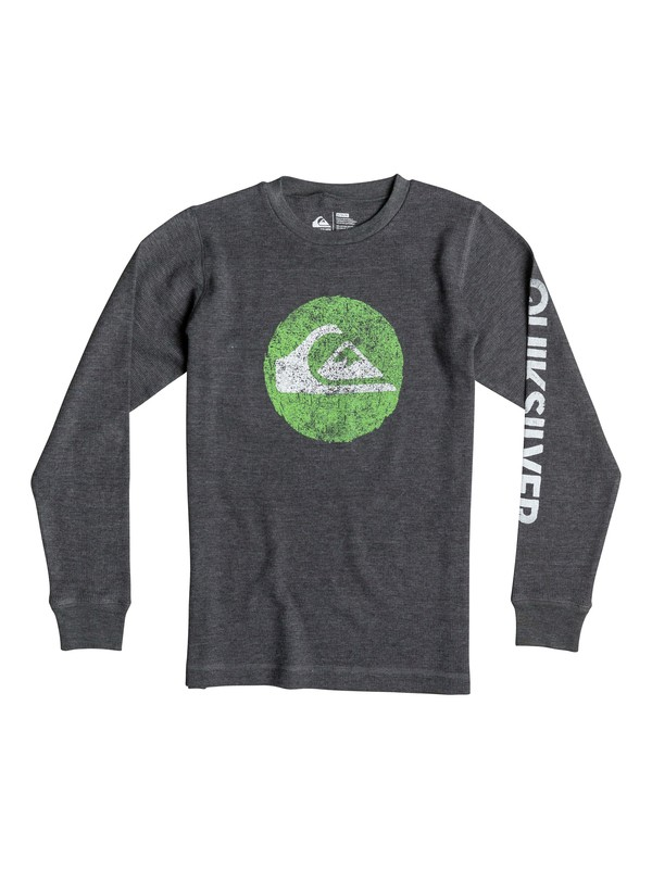 0 Boys 8-16 Ring Of Water Long Sleeve T-Shirt  40664154 Quiksilver