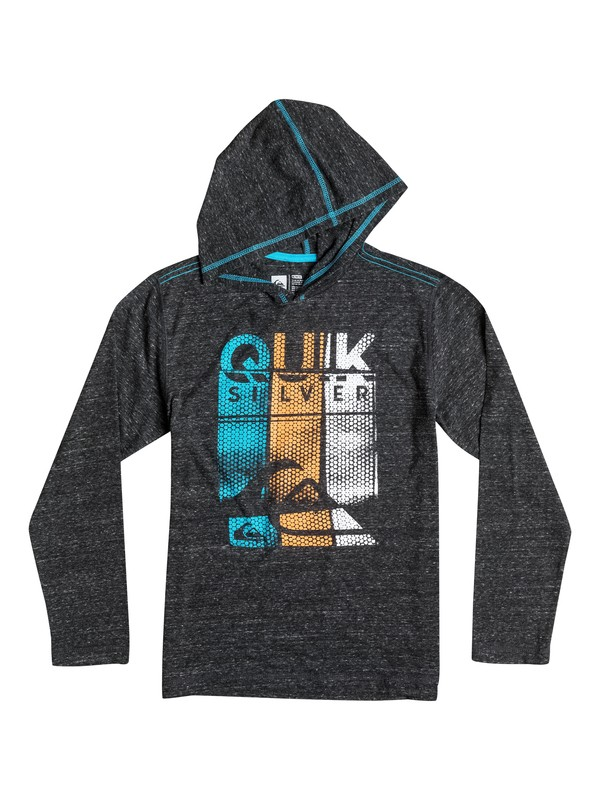 0 Boys 8-16 Bubble Stripes Hoodie  40664162 Quiksilver
