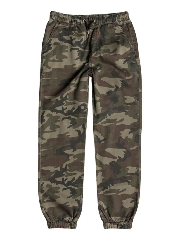 0 Boys 8-16 Fonz Camo Pants  40665009 Quiksilver
