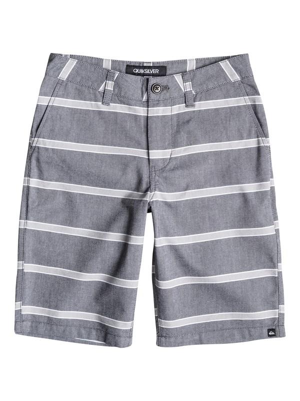 0 Boys 8-16 Everyday Oxford Stripe Shorts  40665011 Quiksilver
