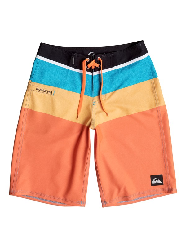 0 Boys 8-16 Sunset Futures Boardshorts  40665036 Quiksilver