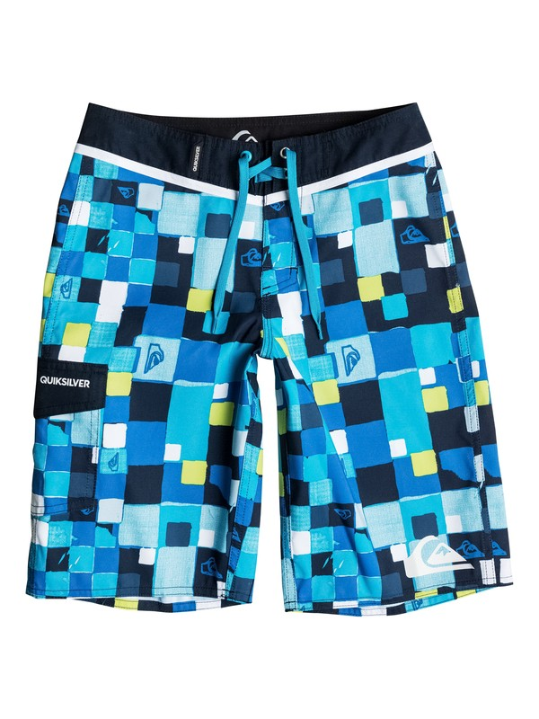 0 Boys 8-16 Double Checked Boardshorts  40665039 Quiksilver