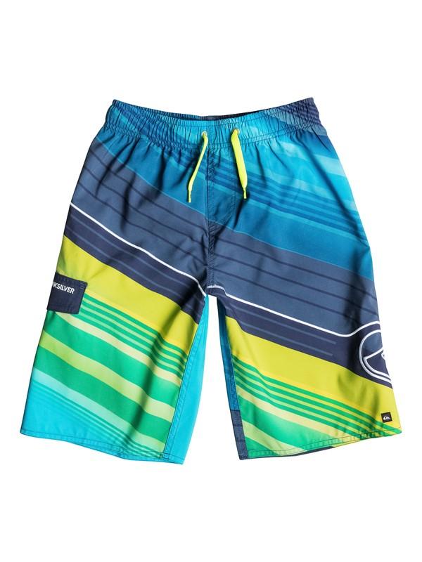 0 Boys 8-16 Rangled Boardshorts  40665041 Quiksilver