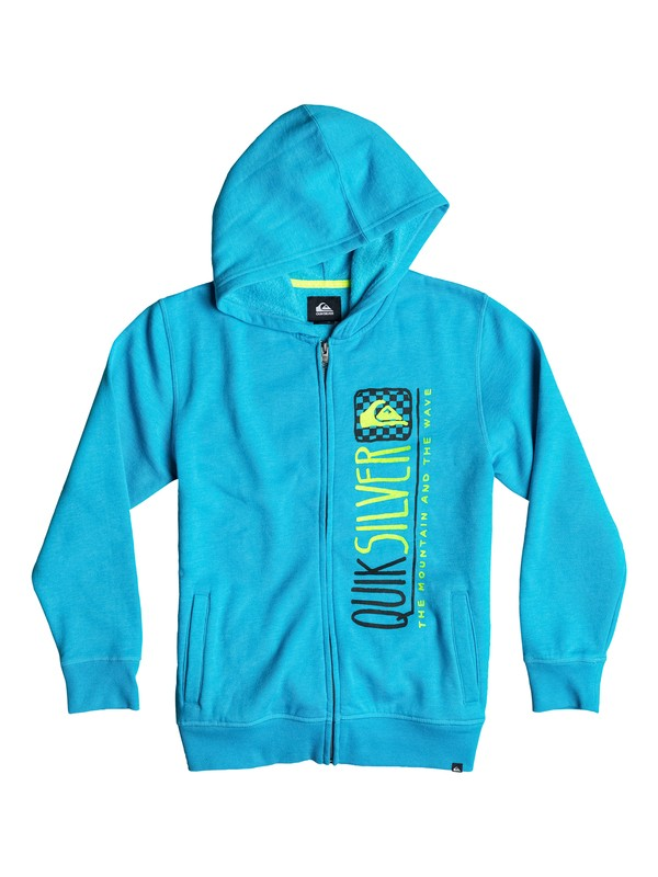 0 Baby Triangular Zip Sweatshirt  40674043 Quiksilver