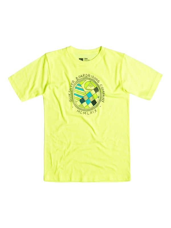 0 Baby Check-A-Round Tee  40674074 Quiksilver