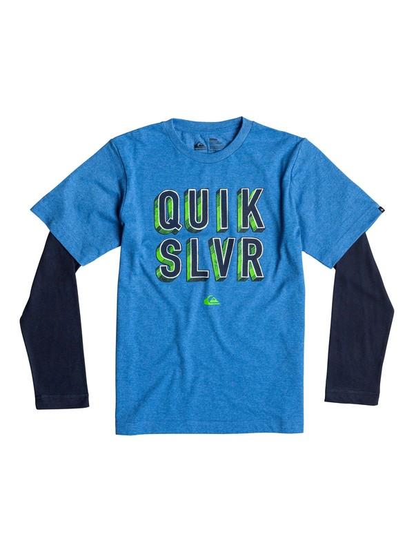 0 Baby Quik Addict Long Sleeve T-Shirt  40674147 Quiksilver