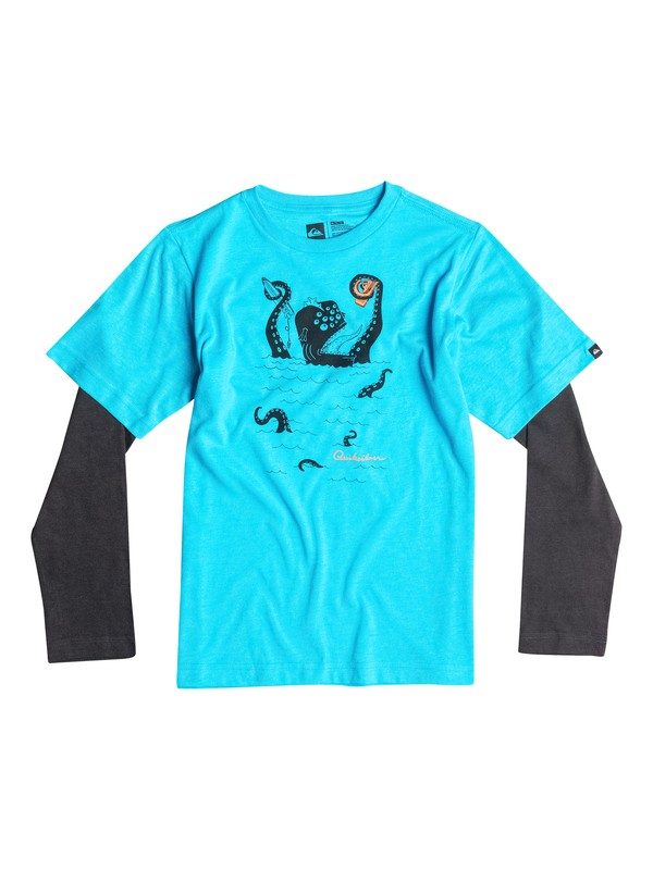 0 Baby Sea Monster Long Sleeve T-Shirt  40674150 Quiksilver