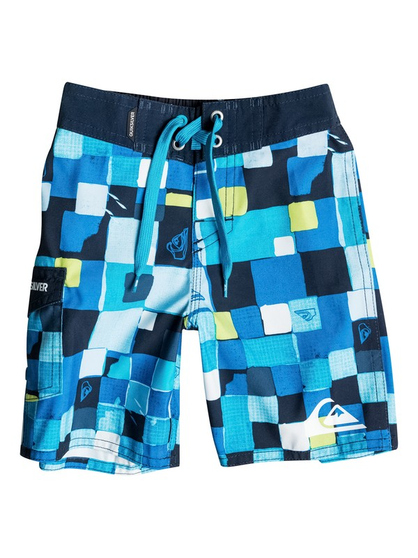 0 Baby Double Checked Boardshorts  40675039 Quiksilver