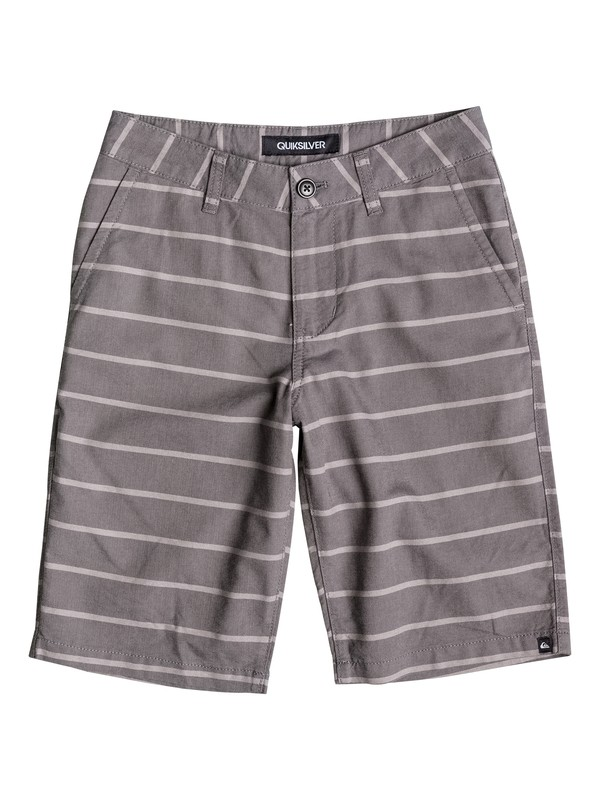 0 Baby Everyday Oxford Stripe Shorts  40675046 Quiksilver