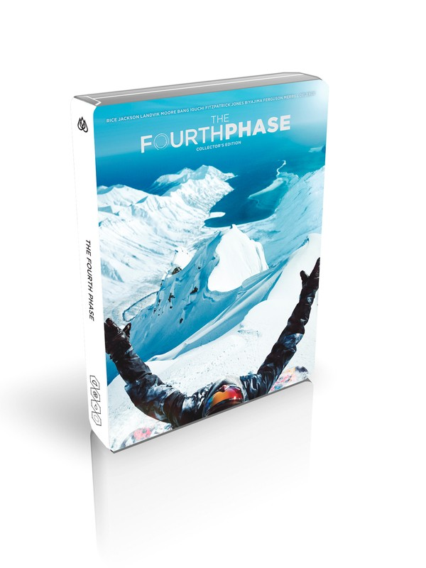 0 The Fourth Phase 3-in-1 Collector's Edition: Blu-ray, DVD, & Digital Download Multicolor 4THPHASE Quiksilver