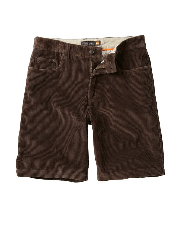 0 Men's Supertubes 4 Corduroy Shorts  504225 Quiksilver