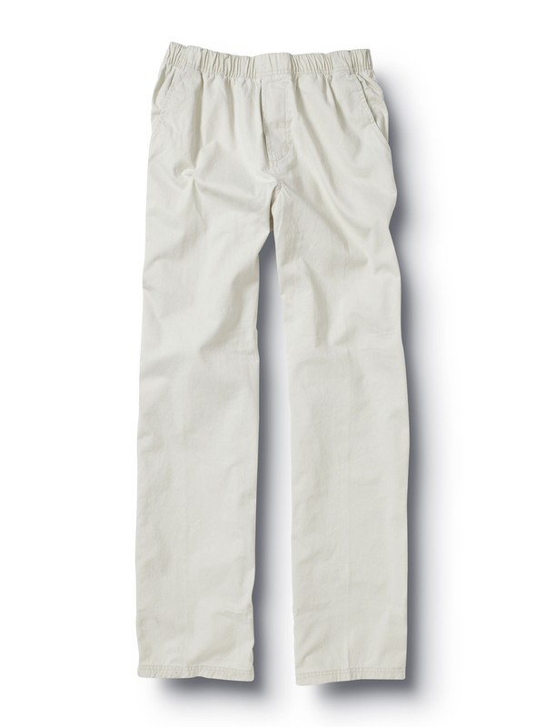 0 Men's Baja Pants Beige 505259 Quiksilver