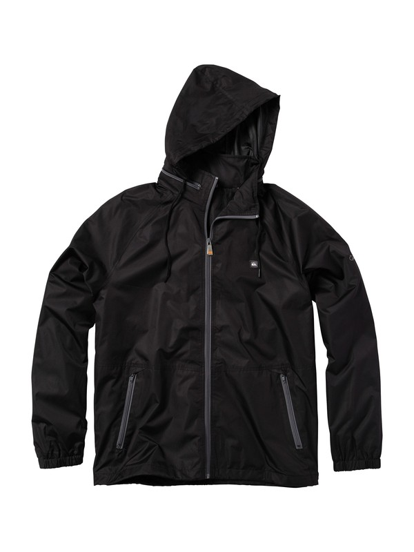 0 Men's Shell Shock Windbreaker Jacket  506202 Quiksilver