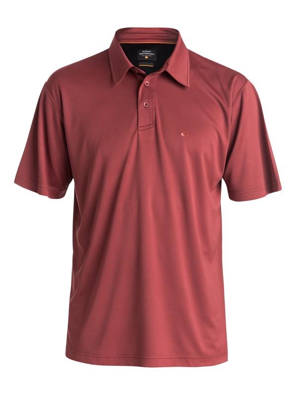 0 Waterman Water Polo Shirt Red 508610 Quiksilver