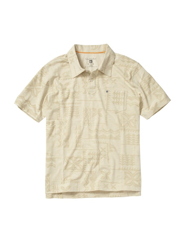 0 Men's Hanauma Bay Short Sleeve Polo Shirt  508633 Quiksilver