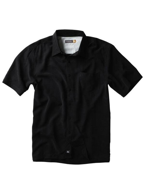 0 Men's Clear Days Short Sleeve Shirt  509002 Quiksilver
