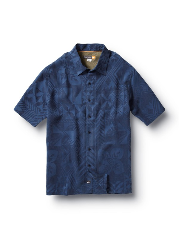 0 Men's Aganoa Shirt  509818 Quiksilver