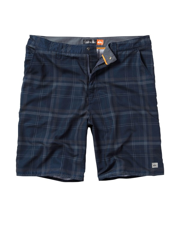 0 Men's Huntington Plaid Shorts  511009 Quiksilver