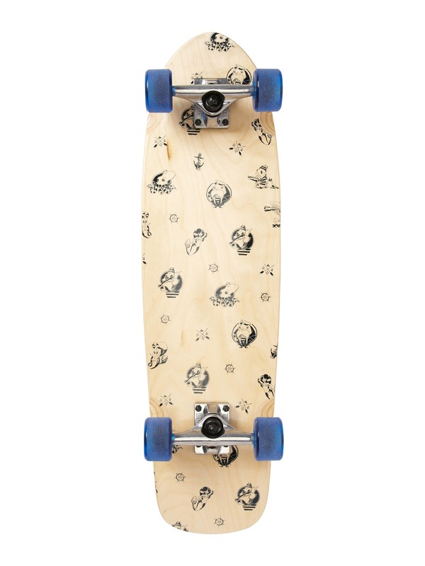 0 Briny Deep Skateboard  844069 Quiksilver