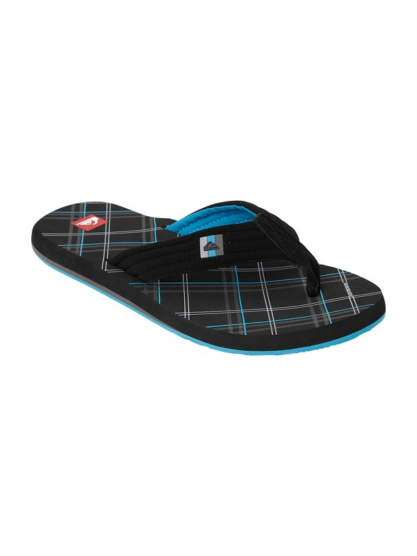 0 Foundation Cush Sandals Black 857368 Quiksilver