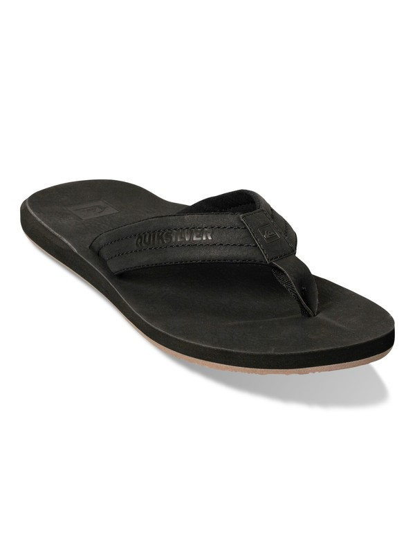 0 Carver Nubuck Leather Sandals  857408 Quiksilver