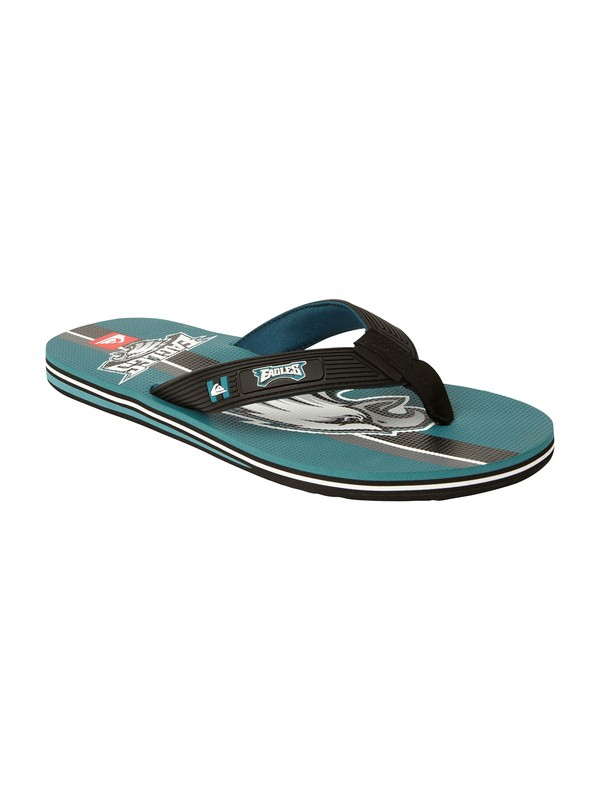 0 Philadelphia Eagles NFL Sandals  857434 Quiksilver