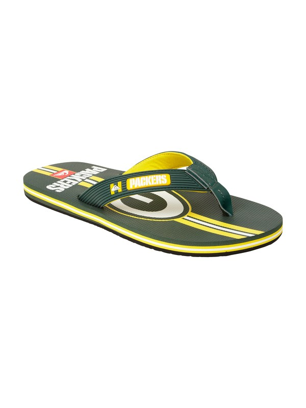 0 Green Bay Packers NFL Sandals  857436 Quiksilver