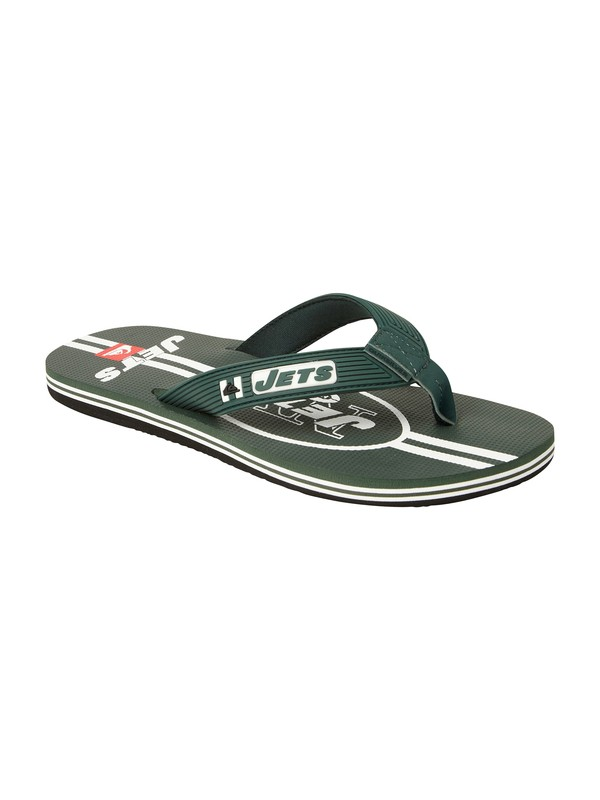0 New York Jets NFL Sandals  857437 Quiksilver