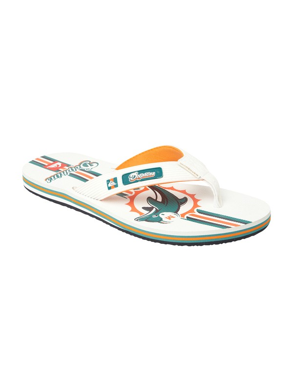 0 Miami Dolphins NFL Sandals  857438 Quiksilver