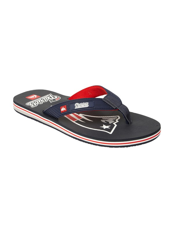 0 New England Patriots NFL Sandals  857439 Quiksilver
