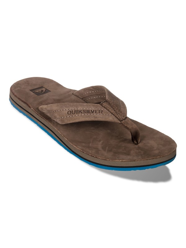0 Port Leather Sandals  857454 Quiksilver