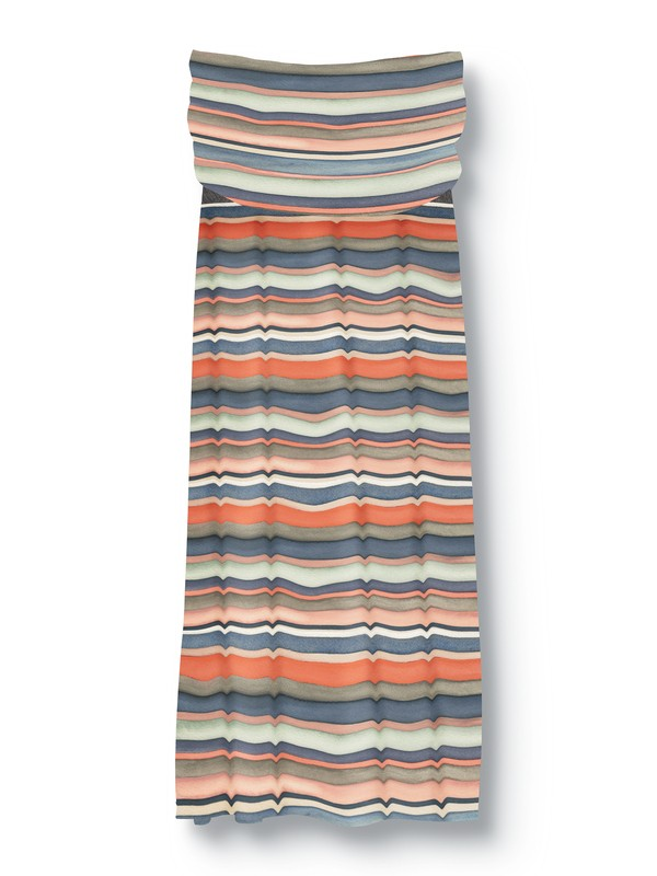 0 QSW Painted Stripe Dress  875273 Quiksilver