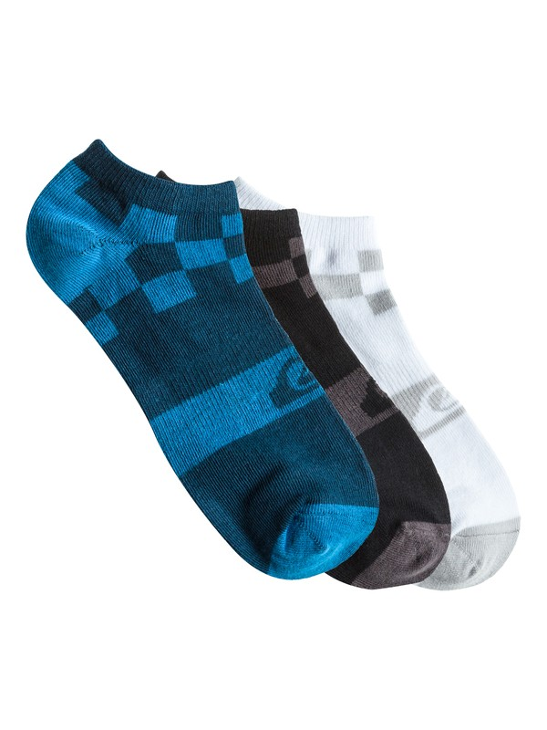 0 Boys 8-16 District 3 Pack Socks  AQBAA00022 Quiksilver