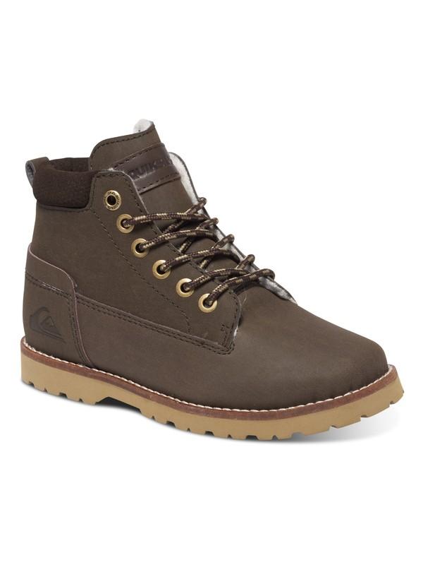 0 Boy's 8-16 Mission Lace-Up Boots  AQBB700004 Quiksilver