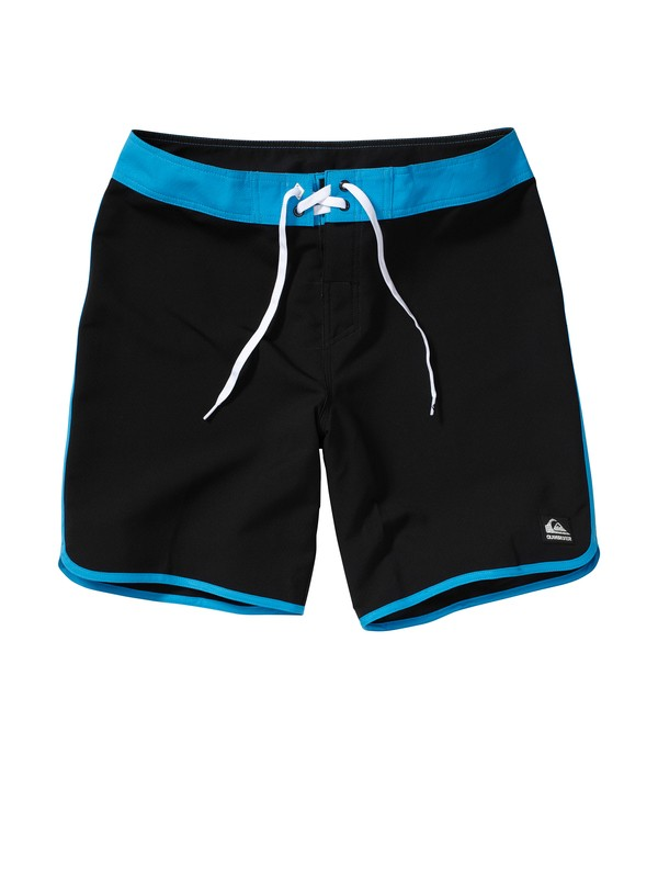 0 Boys 8-16 OG Scallop Solid Boardshorts  AQBBS00053 Quiksilver