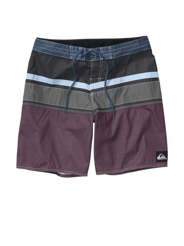 0 Boys 8-16 Panel Stripe Boardshorts  AQBBS00171 Quiksilver
