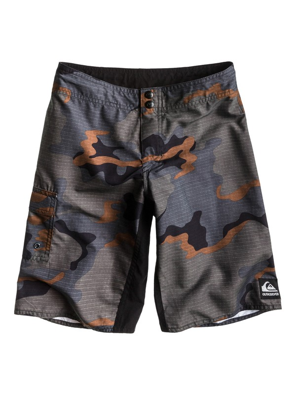 0 Boys 8-16 Swamp Stomp Boardshorts  AQBBS00181 Quiksilver