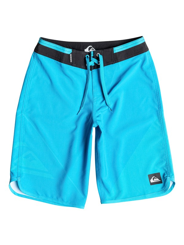 "0 Boy's 8-16 New Wave 18"" Boardshorts  AQBBS03058 Quiksilver"