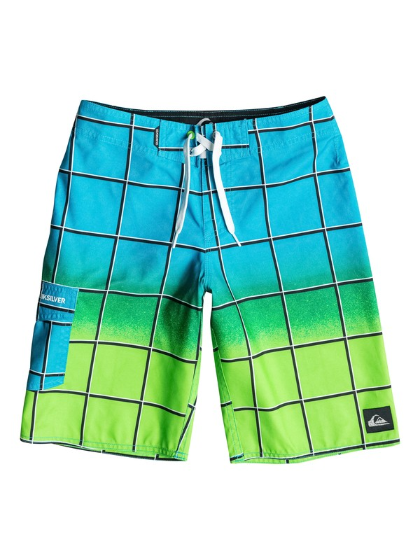 0 Boys 8-16 Electric Colors Boardshorts Blue AQBBS03059 Quiksilver