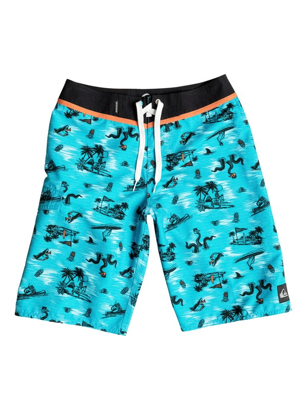 "0 Boys 8-16 In Water 19"" Boardshorts  AQBBS03068 Quiksilver"