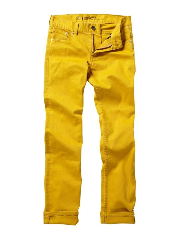 0 Boys 8-16 Distortion Jeans  AQBDP00003 Quiksilver