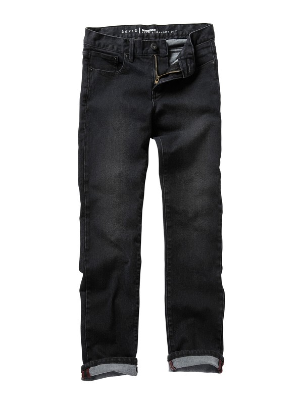 0 Boys 8-16 Distortion Jeans  AQBDP00005 Quiksilver