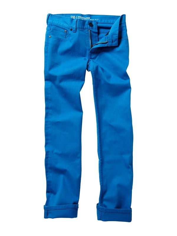 0 Boys 8-16 Distortion Jeans  AQBDP00006 Quiksilver