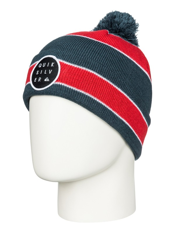 0 Double Up - Cuff Beanie With Bobble  AQBHA03088 Quiksilver