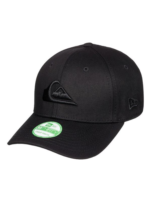 0 Boy's 8-16 Mountain & Wave Black Hat  AQBHA03128 Quiksilver